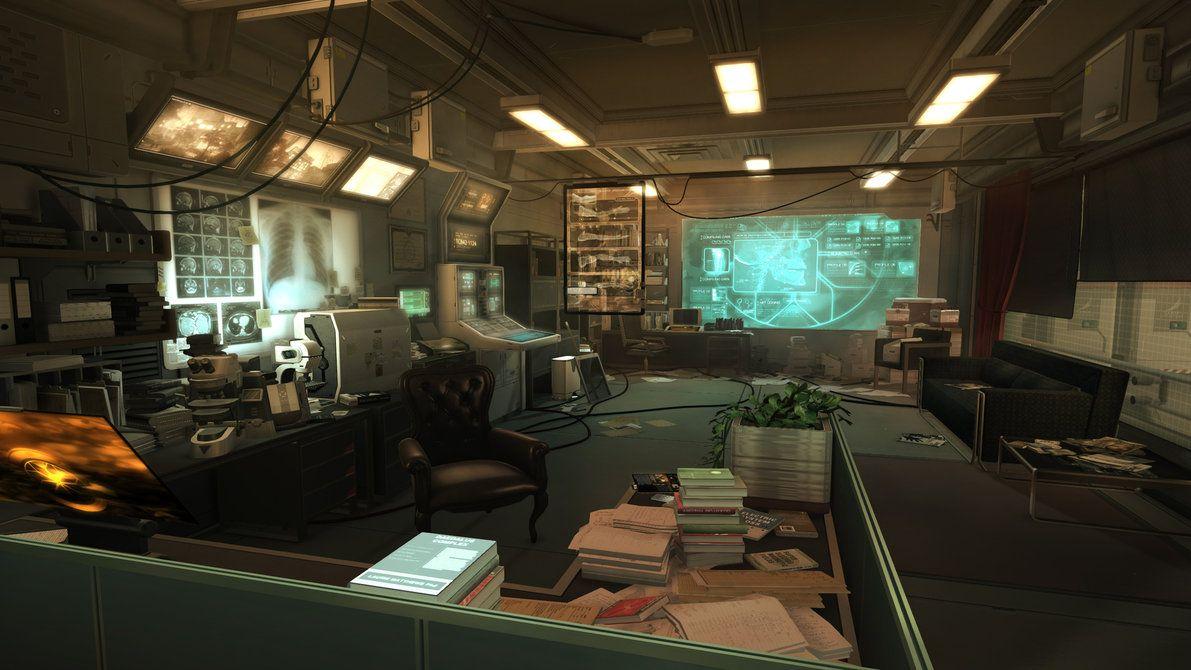 Deus Ex Human Revolution The Office by JamieBayliss
