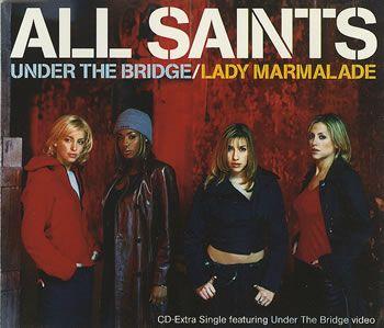 All Saints Under The Bridge UK CD single (CD5 / 5