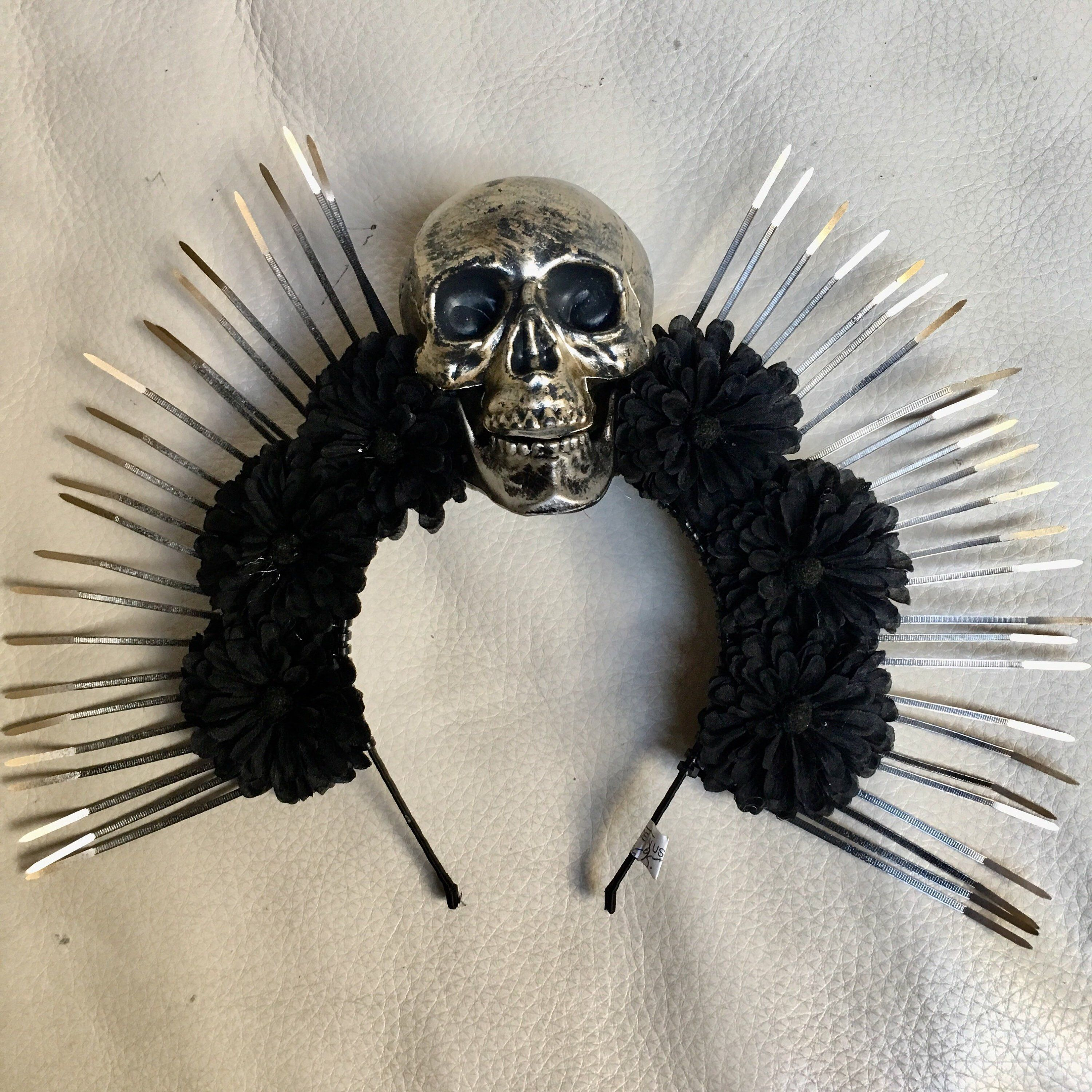 Skull And Bone Festival Headpiece One Size