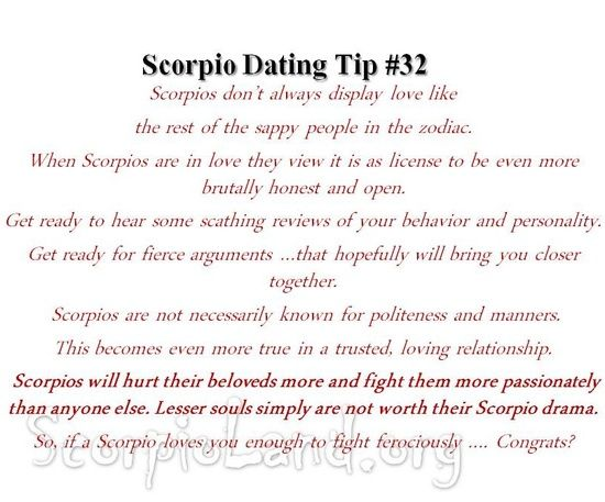 How to Tell if Scorpio Men Are in Love
