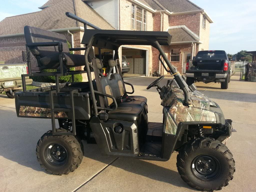 Selling a high rack for a newer polaris ranger it has jeep seat cupholders