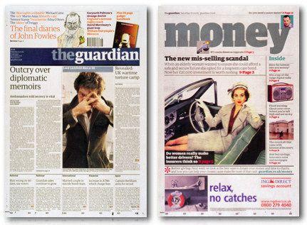 AwardWinning Newspaper Designs – Newspaper Layout Template