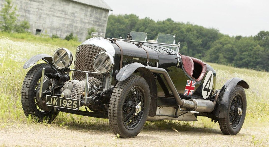 1931 Bentley 4 1/2-Liter Supercharged Blower \