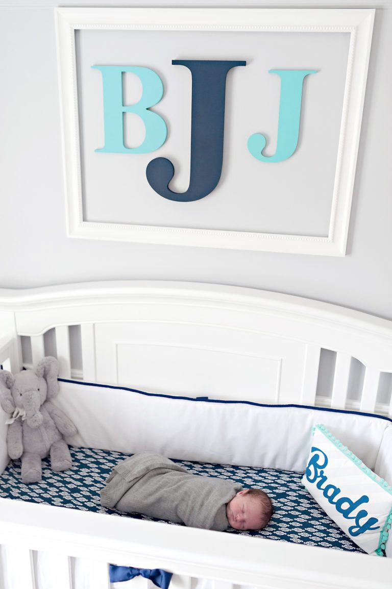 Little Boy Blue Nursery | Baby boy room decor, Baby boy ...