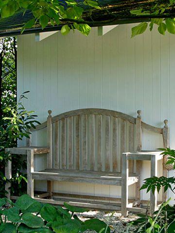 schrittweise umgebauter wohngarten. ruhige, schattige sitzecken, Garten und bauen