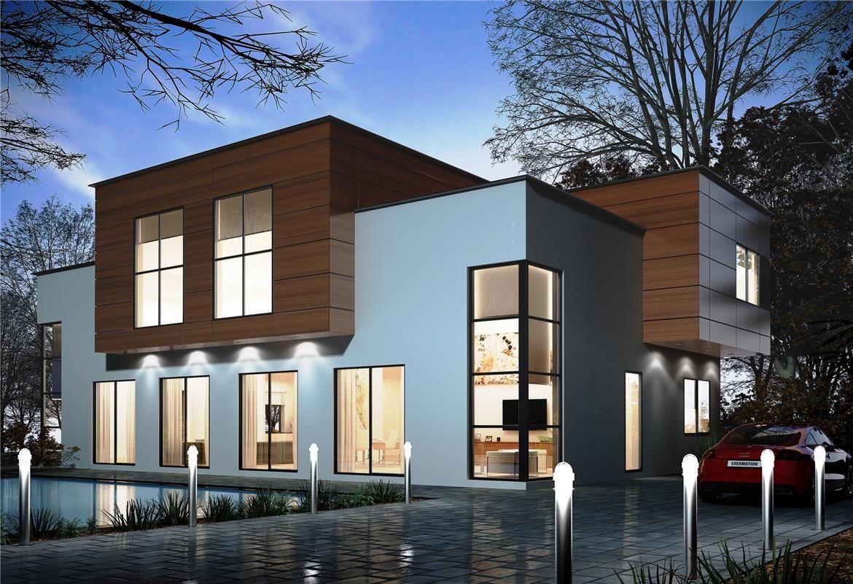 Pamplona donacasa 175m2 hormig n celular con trasdosado tejado plano espacios de - Foro casas prefabricadas ...