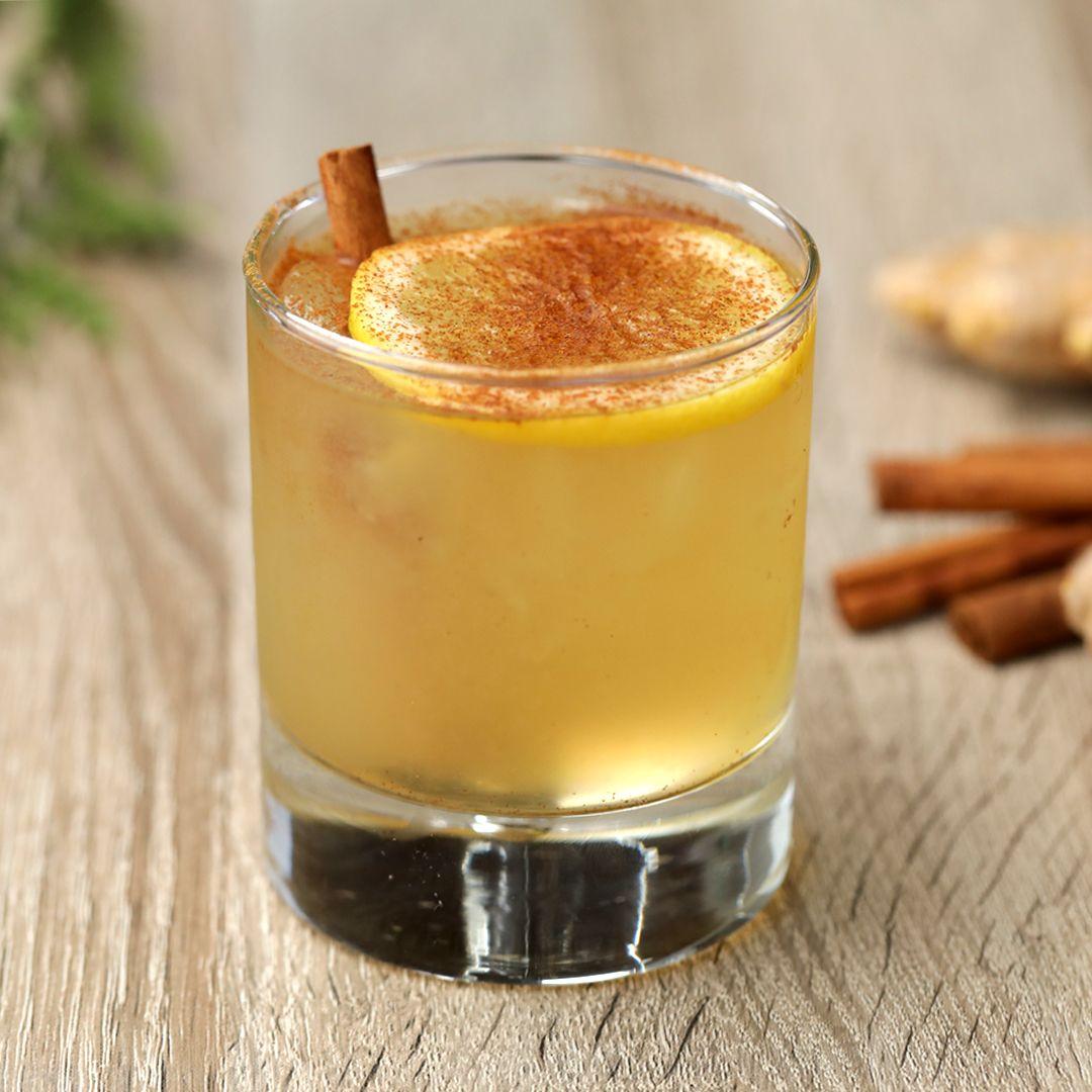 Photo of Cinnamon Whiskey Fizz