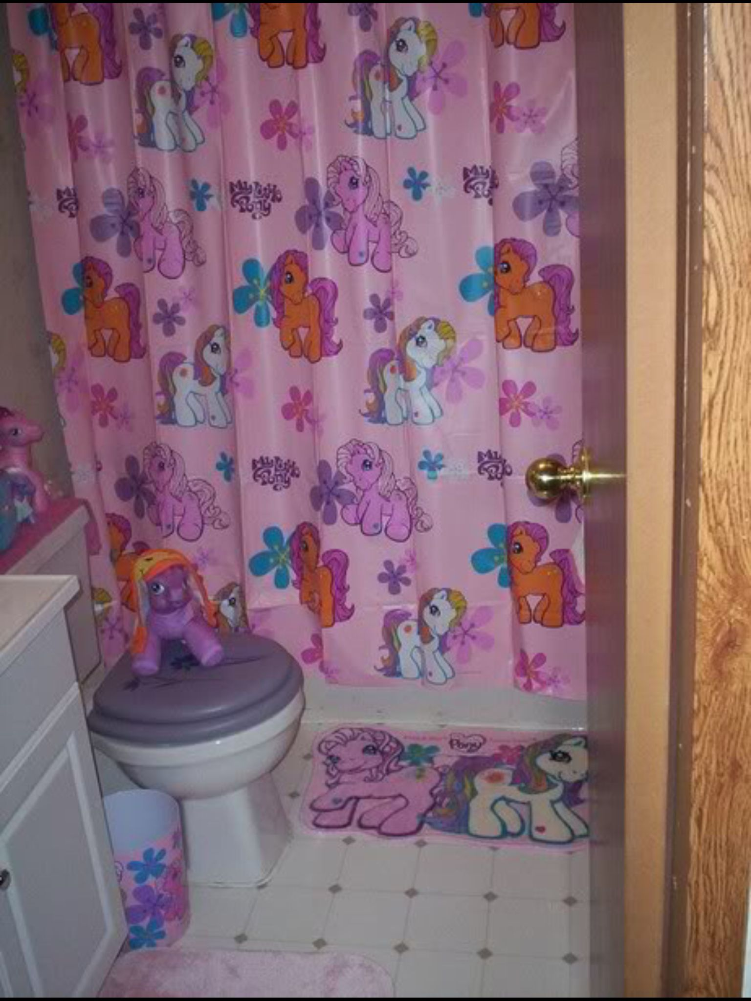 My Little Pony Bathroom