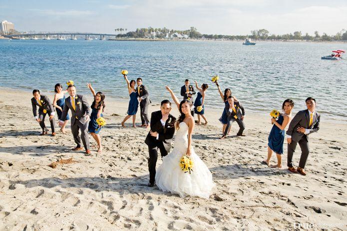 Black carrera slim fit tuxedo, How to plan a beach wedding, beach ...