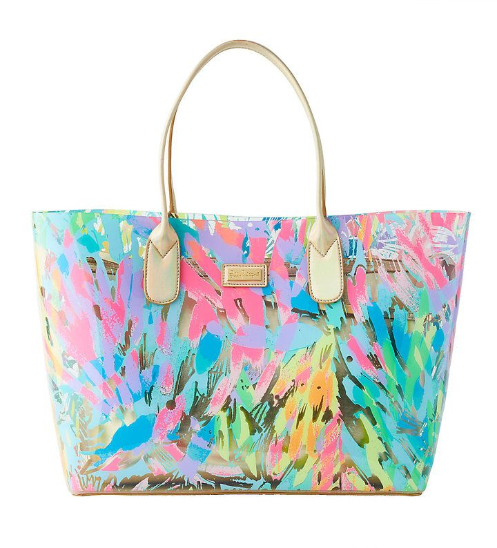Lilly Pulitzer Breezy Tote This Bag Is Excellent For Going To The Pool Or Beach