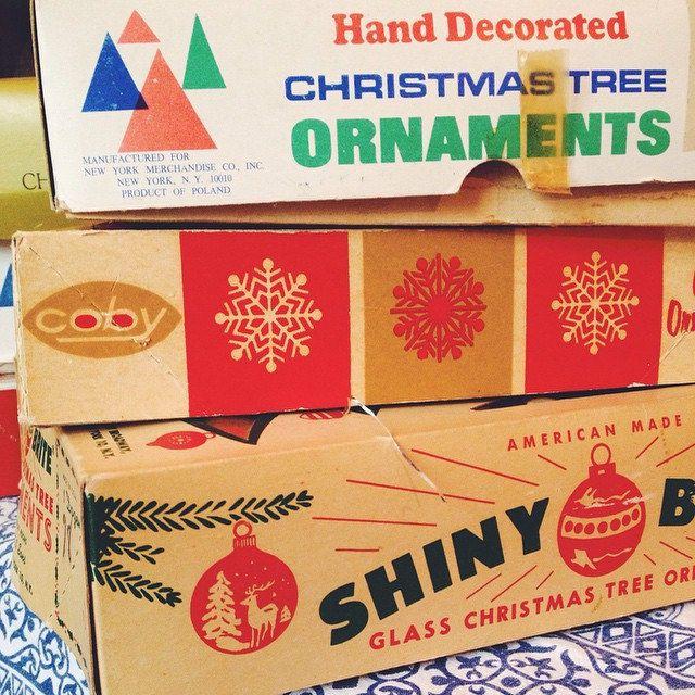 vintage ornaments - On Bradstreet