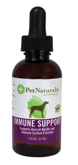 Pet Naturals of Vermont Immune Support Dog Liquid Supplement, 1.93-oz bottle
