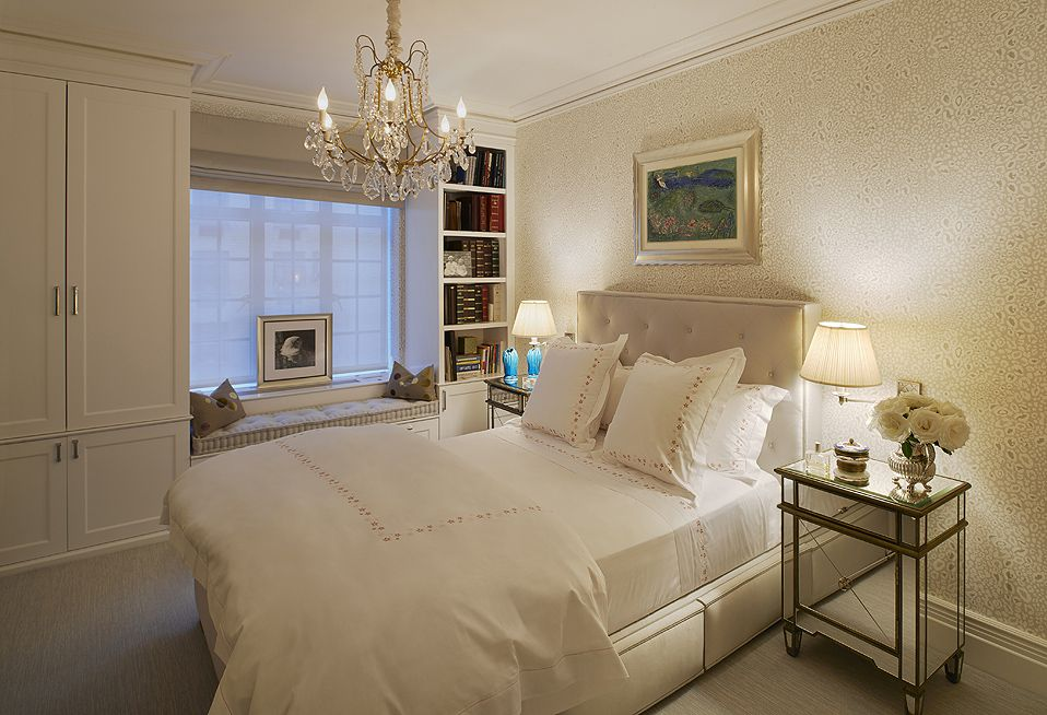 Guest Bedroom, Upper East Side Apartment, New York