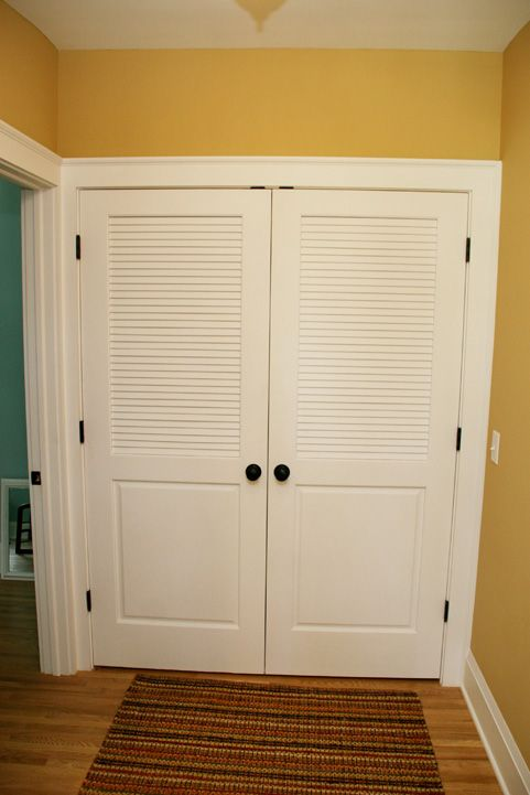 Laundry Closet Door After Remodel For The Home