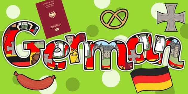 German Title Display Lettering - German, Display, lettering