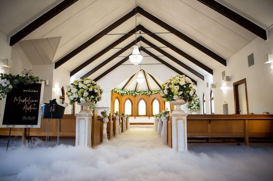 Melbourne Wedding Chapel In 2020 Chapel Wedding Wedding Aisle Melbourne Wedding