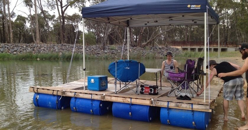 Here S How To Build Your Own Party Barge This Summer