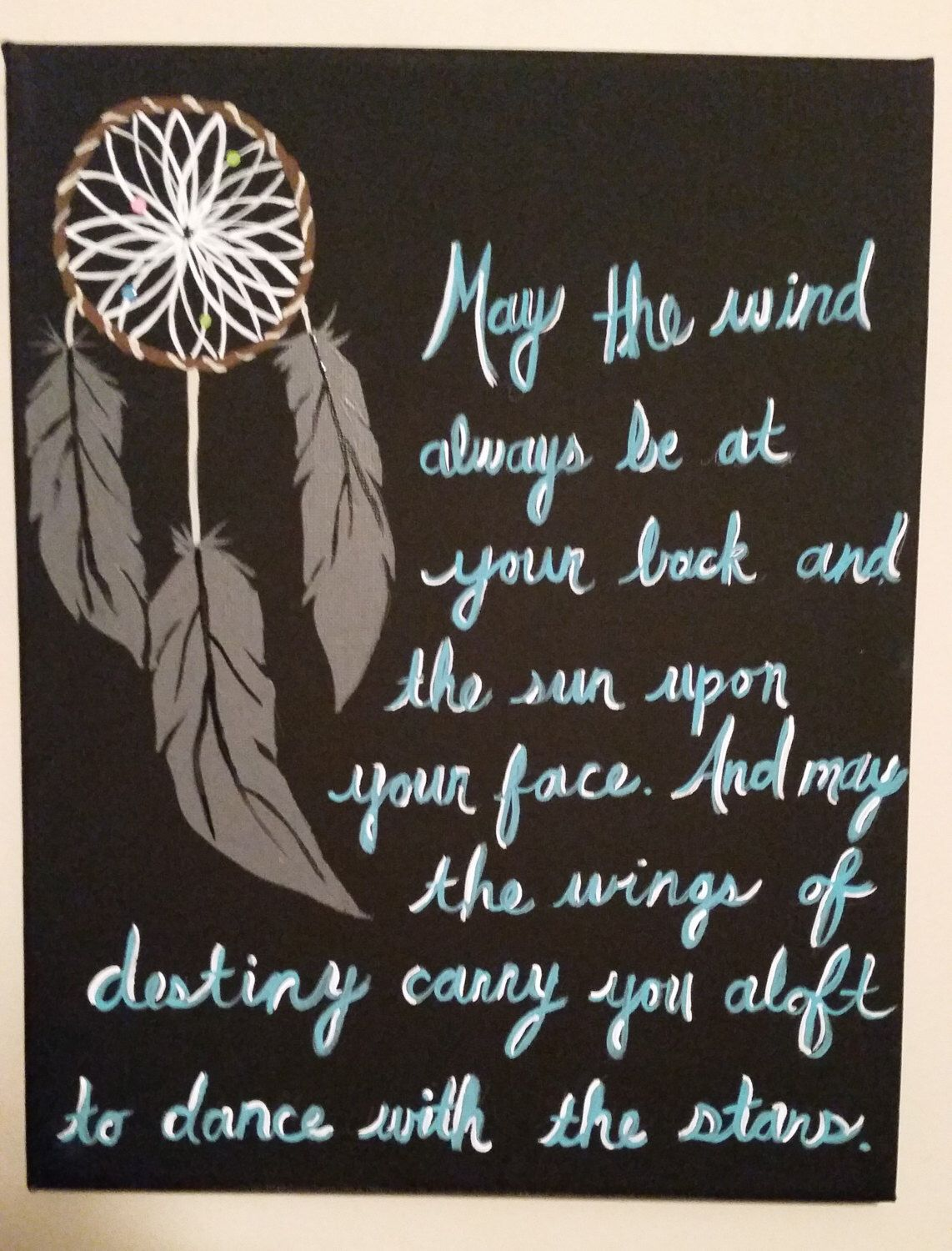 Canvas Art - Quote from Movies - Dream Catcher by ...