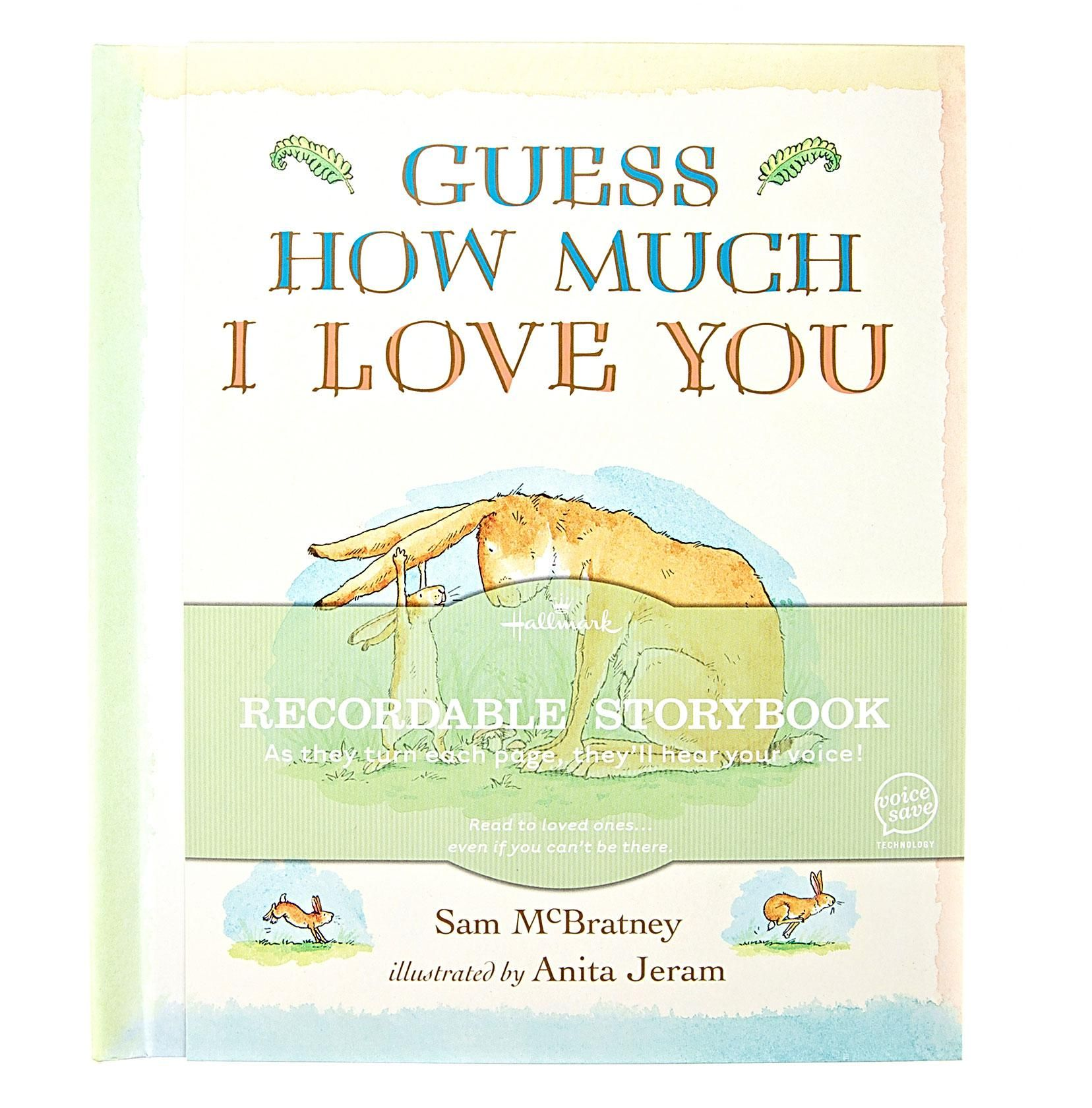 Recordable book sam giesbers first bday guess how much i love recordable book sam giesbers first bday guess how much i love you m4hsunfo