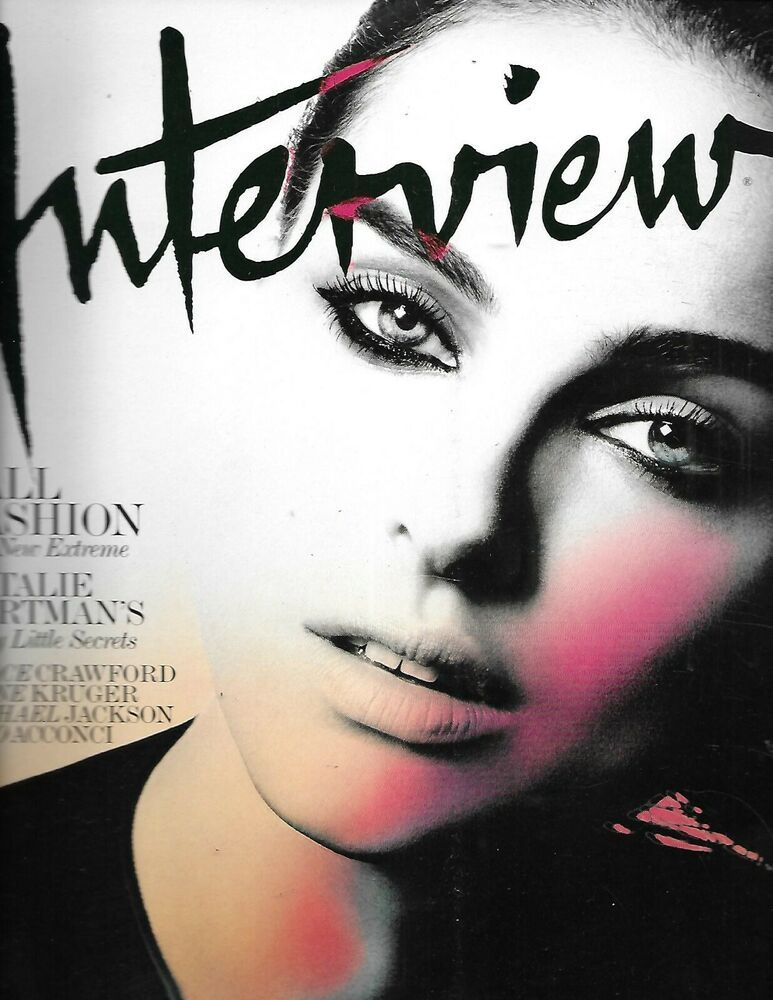 Interview Magazine Natalie Portman Chace Crawford Michael