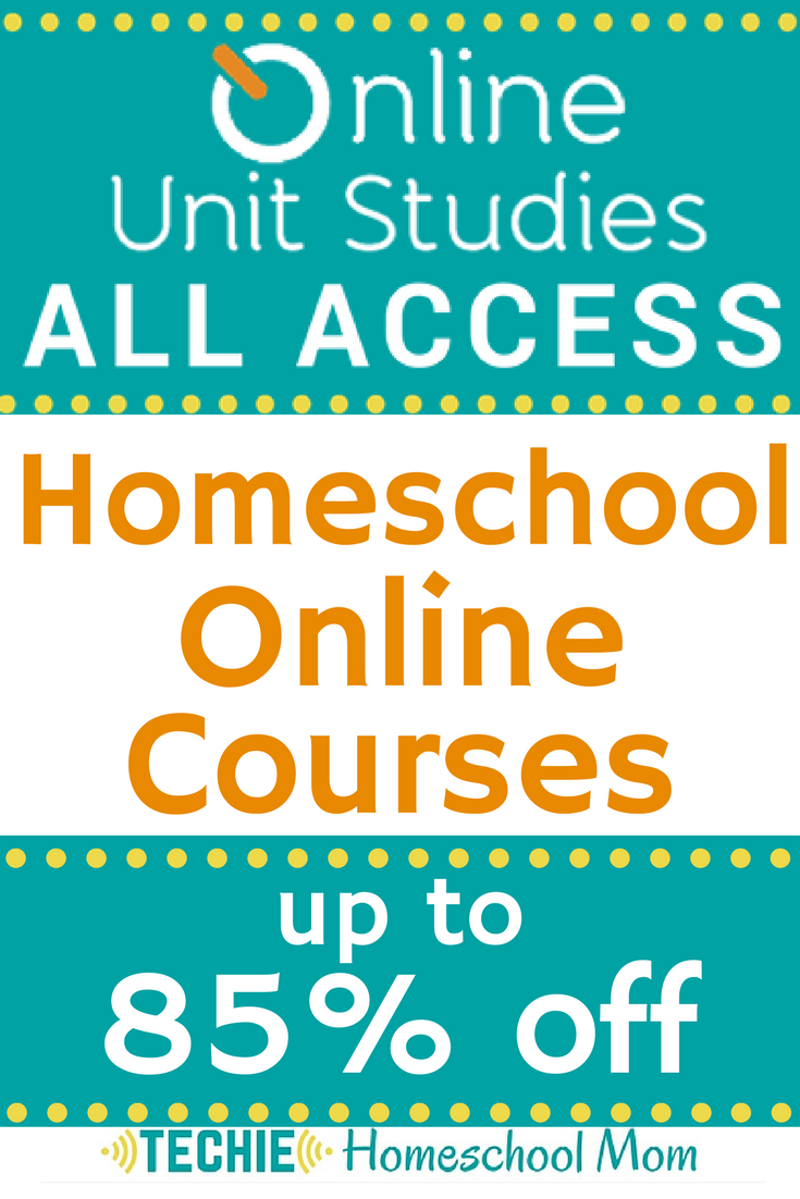 Are you trying to save time and money in your homeschool prep? Check out how you can save on online courses here! (#aff)