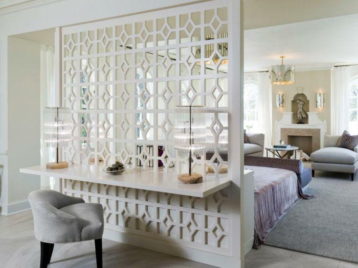 quel s parateur de pi ce choisir d coration pinterest salons bedrooms and interiors. Black Bedroom Furniture Sets. Home Design Ideas