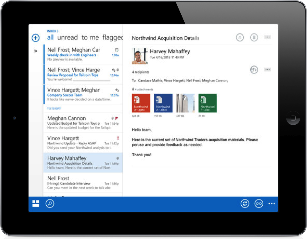 Microsoft Releases Native iPhone and iPad App