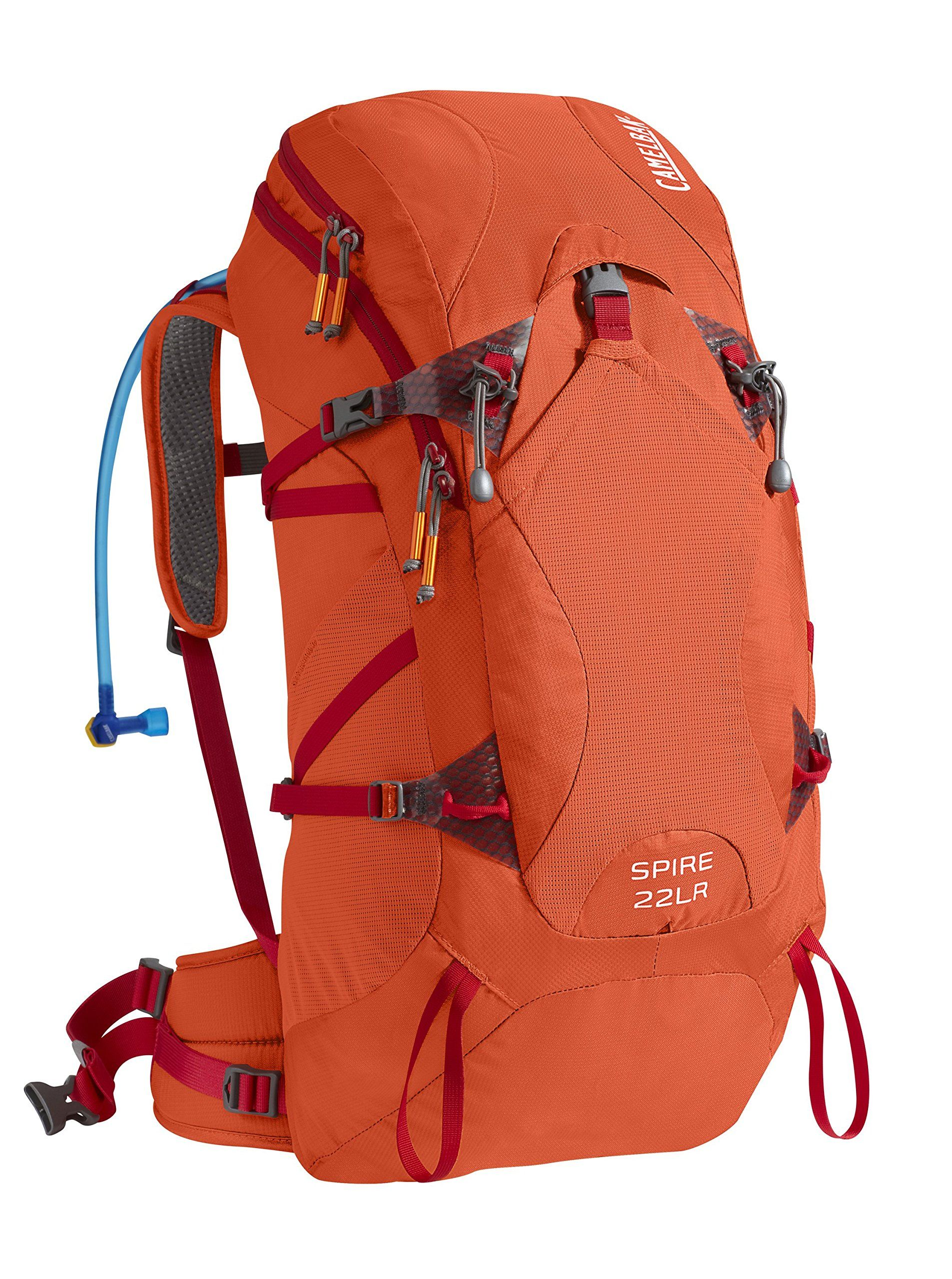 e705fff301 CamelBak Women's 2016 Spire 22 LR Hydration Pack, Cherry Tomato/Samba. The  spire offers superior stability and best-in-class breathability in a  technical, ...