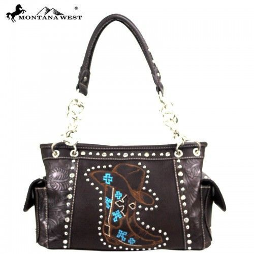 MW27-8085 Montana West Western Cowgirl Collection Handbag