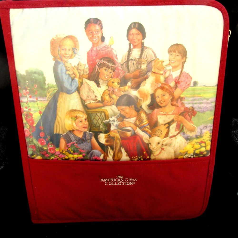 American Girl Collection 3 Ring Binder Notebook W Dividers