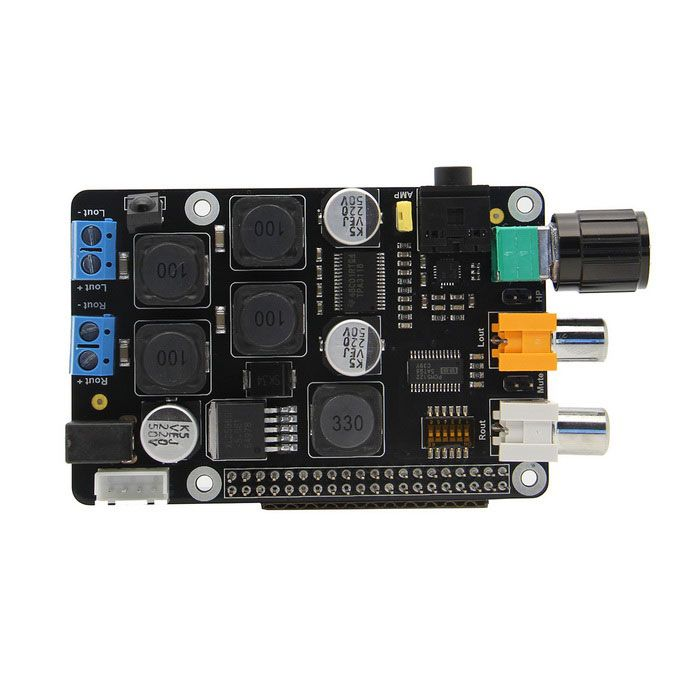 Supstronics X400 Expansion Board for Raspberry Pi 2 Model B / Raspberry Pi B+ - Black. Raspberry Pi 2 Model B (