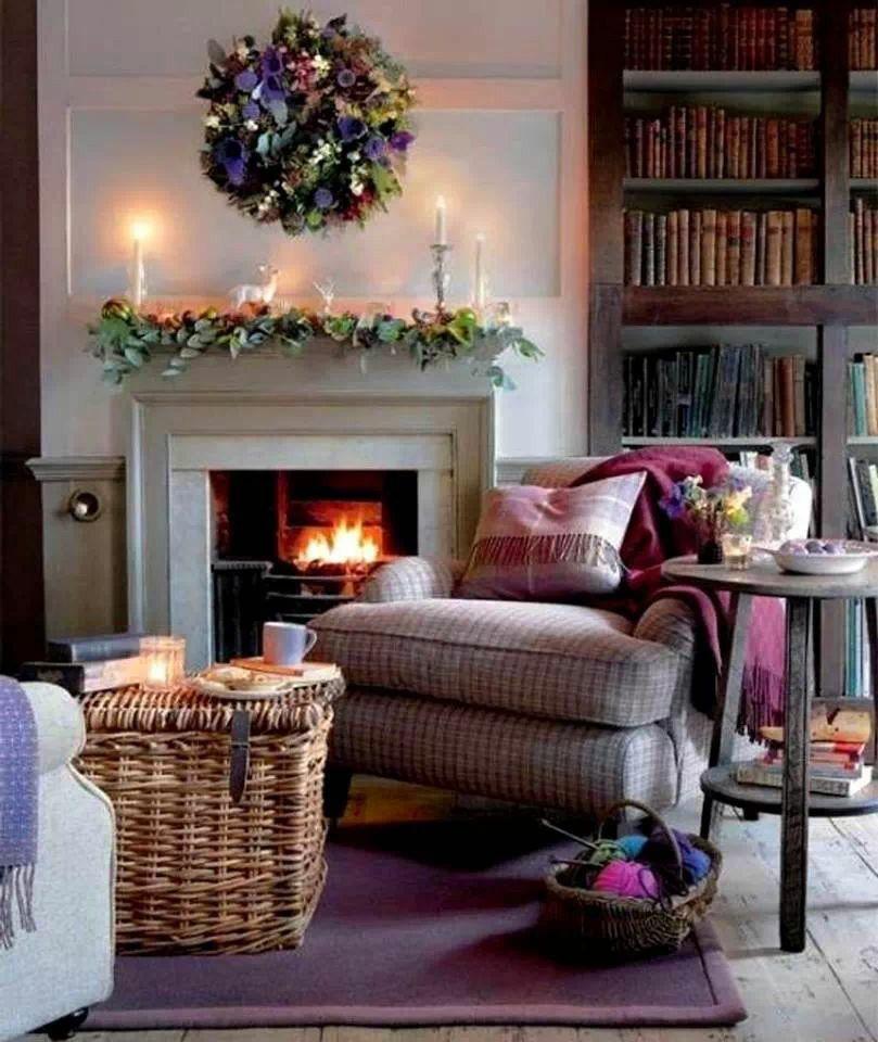 Visite du0027un cottage anglais - Elle Décoration Salons, Shabby and