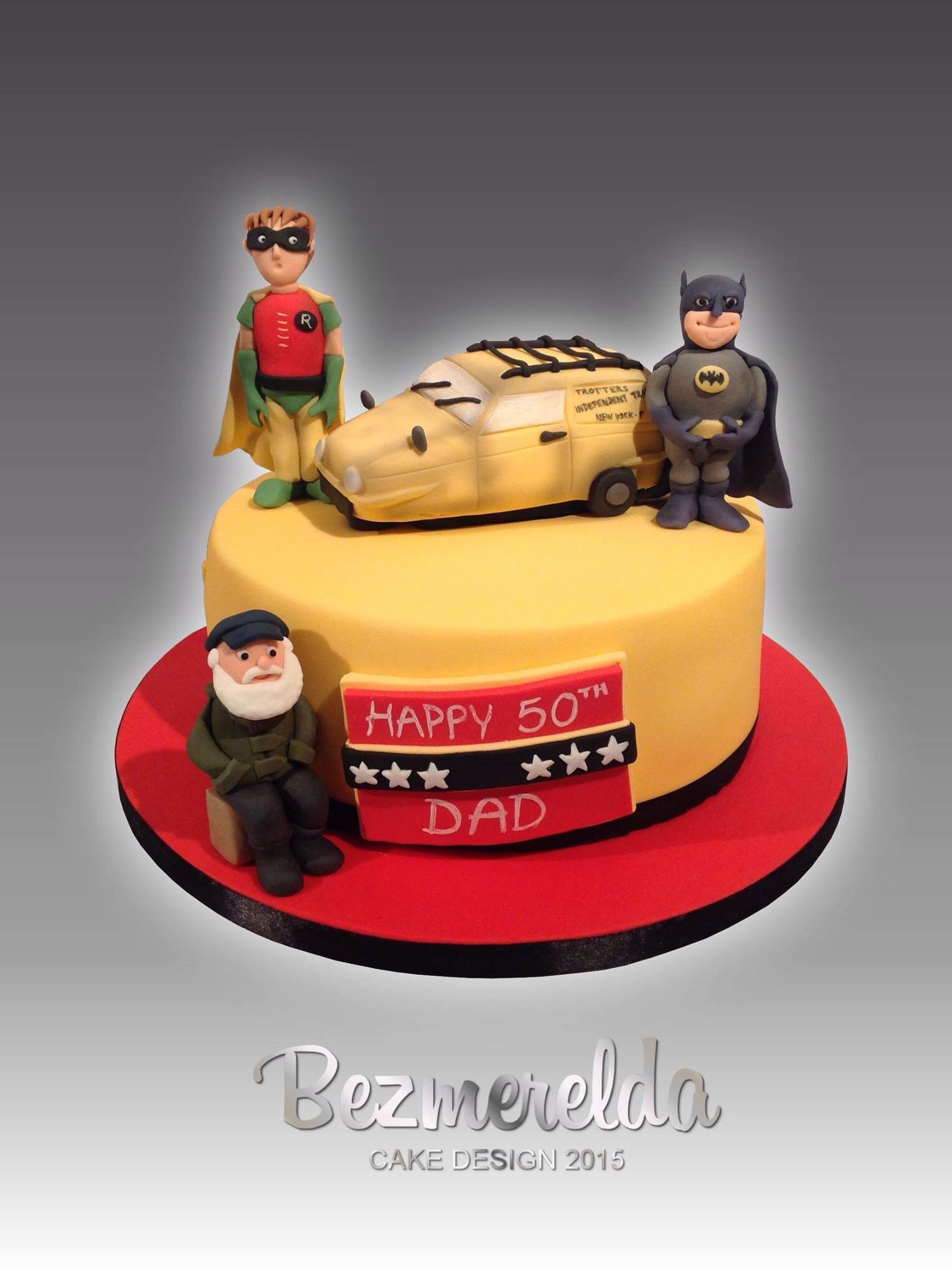Only Fools And Horses cake Made by Bezmerelda Cake