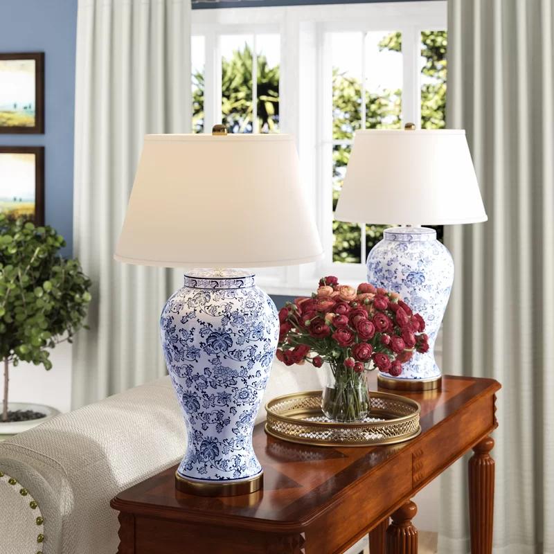 Alcott Hill Spring Blossom 29 Table Lamp Reviews Wayfair Table Lamp Sets