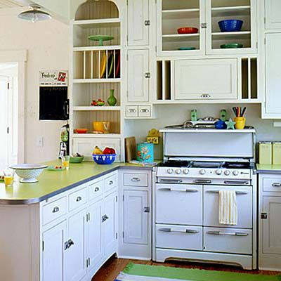retro kitchen - 110 beautiful kitchens | stove, vintage kitchen