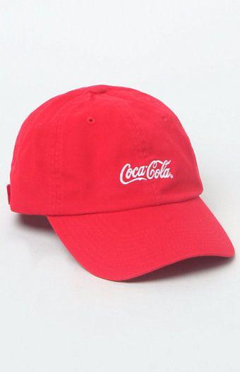 Been Trill x Coca-Cola Script Strapback Dad Hat  4b4862b7e84