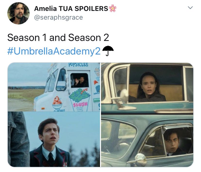 Pin De Koko En The Umbrella Academy En 2020 Memes Divertidos Series Buenas De Netflix Fotos De Amor Parejas