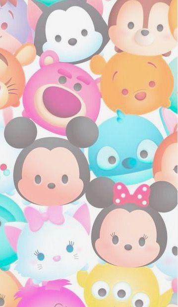 Pin By Gifty On Fondos Disney Wallpaper Tsum Tsum Wallpaper Cartoon Wallpaper