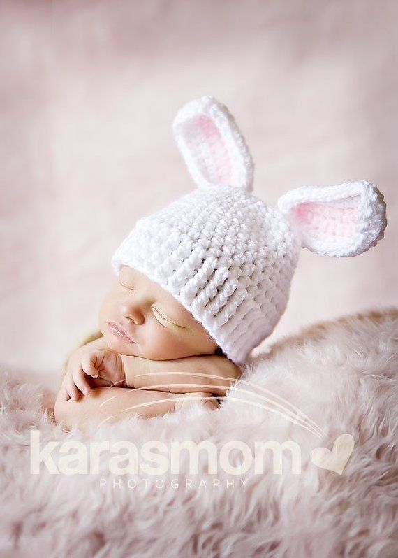 a9fa0c9ca79 newborn baby bunny hat photography prop easter bunny hat
