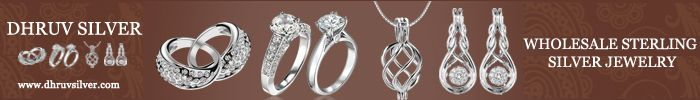 Dhruv silver offers #Sterling #silver #jewelry at wholesale prices and offers everyday new collection for customers.