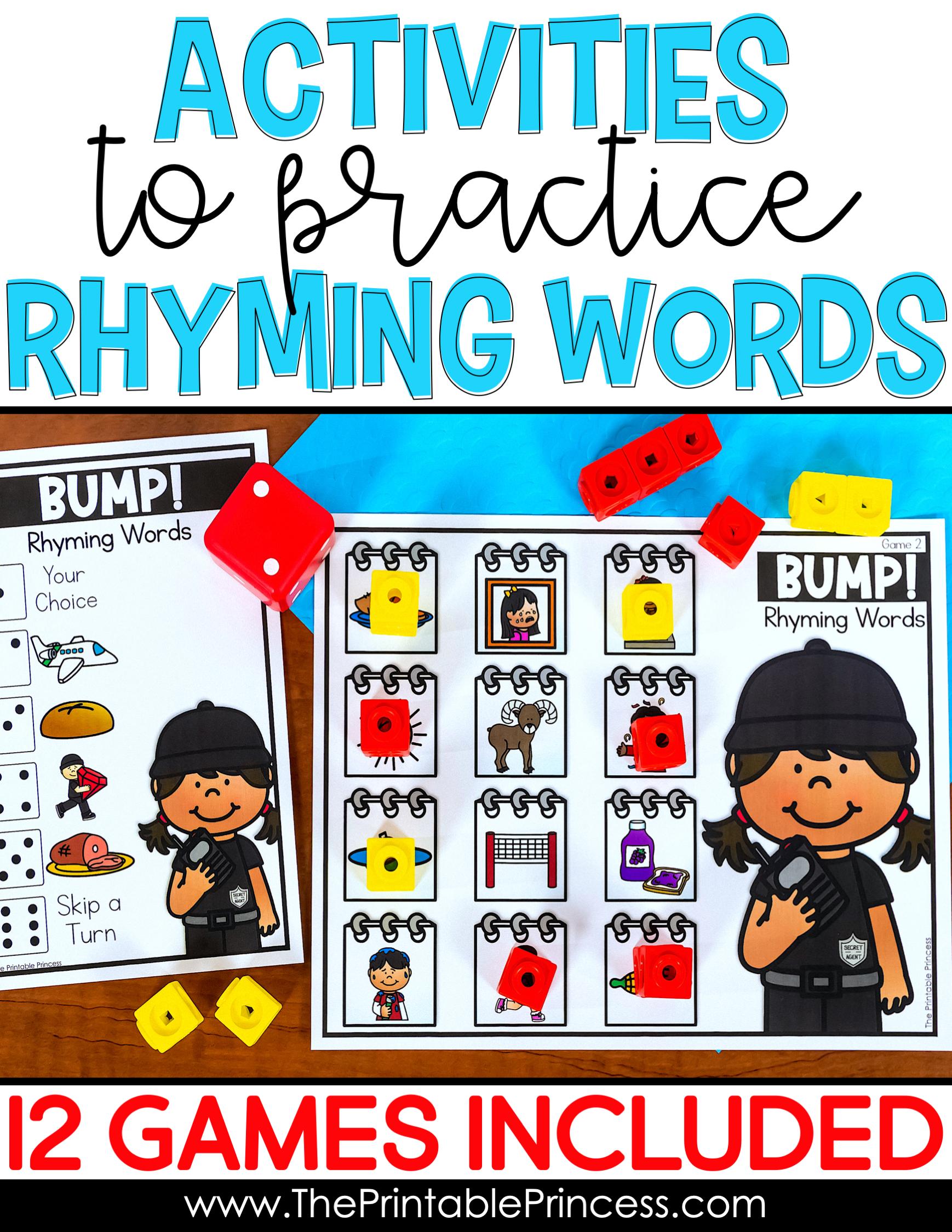 Rhyming Activities Bundle