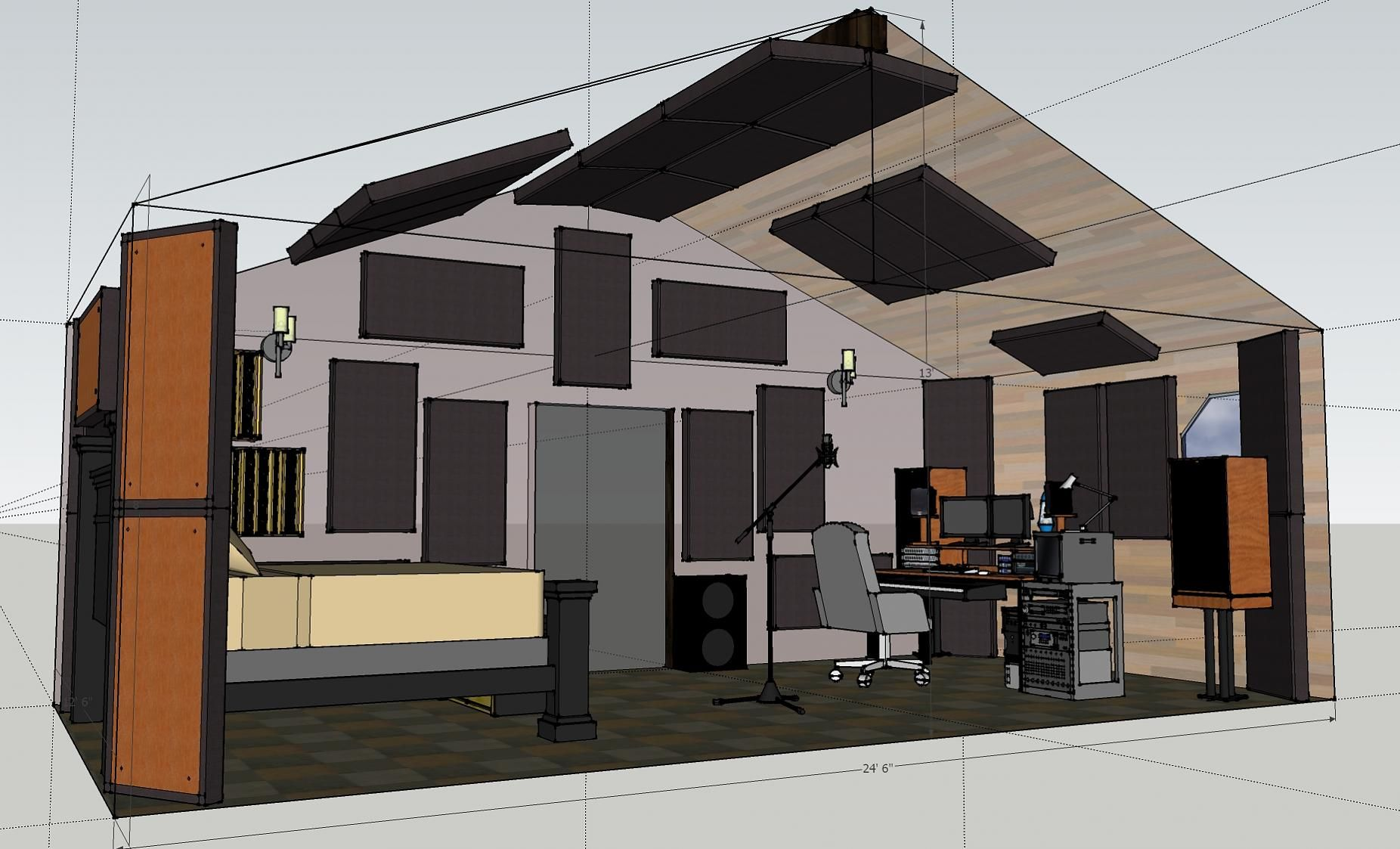 Home Recording Studio Acoustics