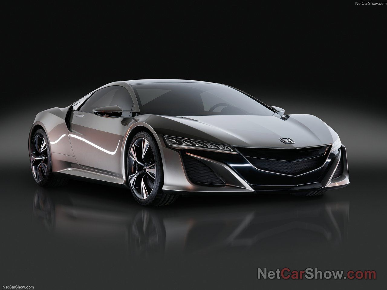 The Very Tasty New Honda Nsx In Concept Form Nsx Honda Sports Car Cool Sports Cars