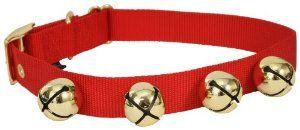 Amazon Com Premier Jingle Bell Dog Collar Large Red 28 X 1 X 1 5 15 94 With Shipping Christmas Dog Collar Dog Collar Jingle Bells