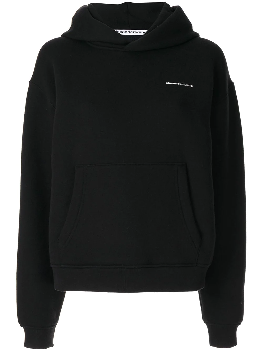 Alexander Wang loose-fit Logo Hoodie - Farfetch -   18 fitness Clothes loose ideas
