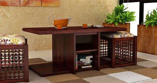Pune Wooden Street Wooden Tables Table