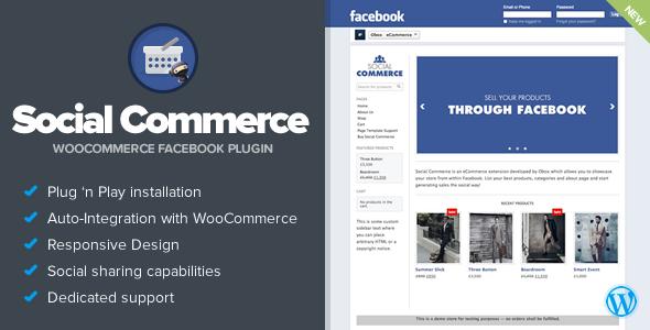 Social Commerce - WooCommerce Facebook Tab - https://codeholder.net ...