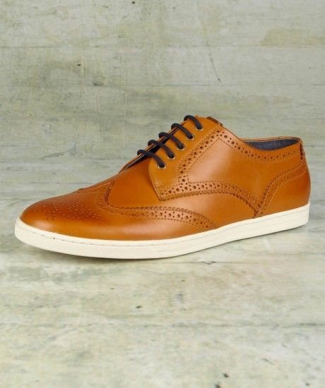 Fred Perry. Patton Leather Shoe