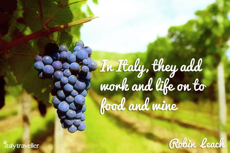 Monday inspirations, like fine wines, only get better with age :) #ItalyTraveller