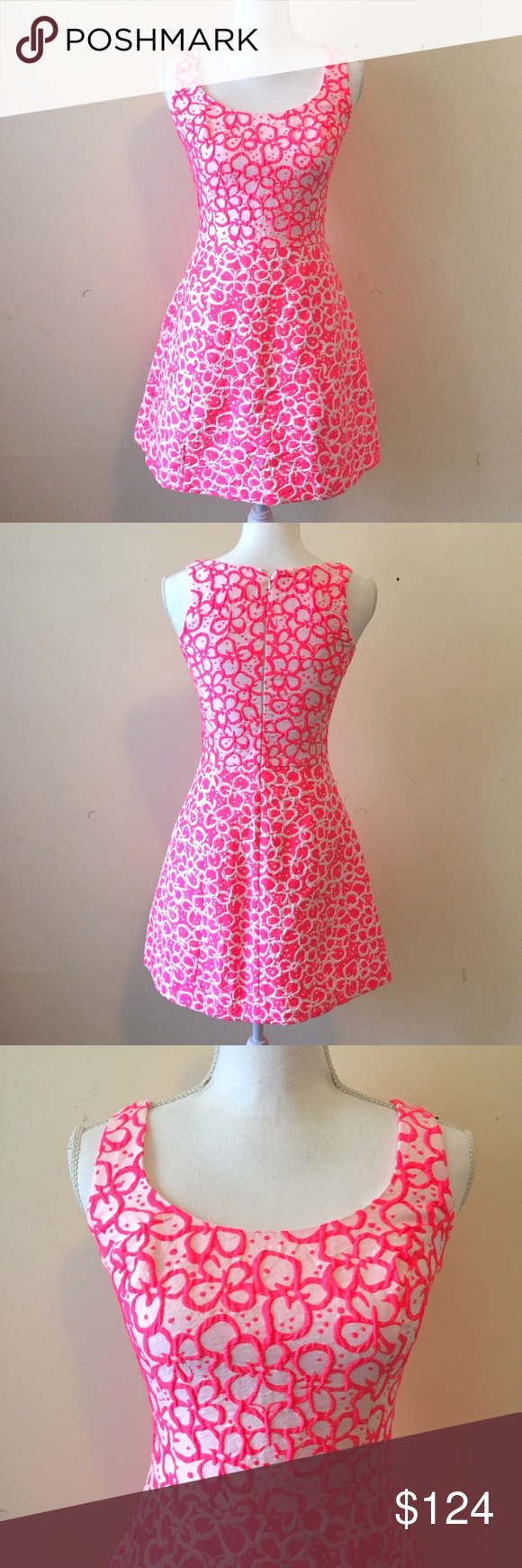 Lilly Pulitzer Joslin Dress in Fiesta Pink | Pinterest